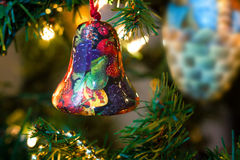 Xmas Bell Royalty Free Stock Images