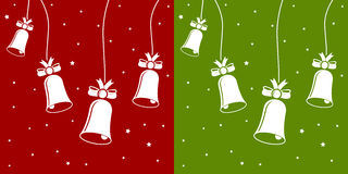 Xmas bells. In vector mode Royalty Free Stock Image
