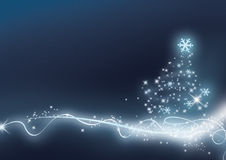 Xmas blue Royalty Free Stock Images