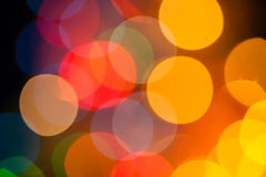 Xmas bokeh Royalty Free Stock Photography