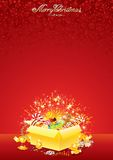 Xmas Bright Background Stock Photography