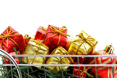 Xmas buying time Royalty Free Stock Images