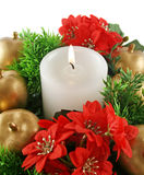 Xmas Candle Royalty Free Stock Images
