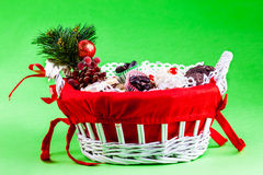 Xmas candy Stock Images