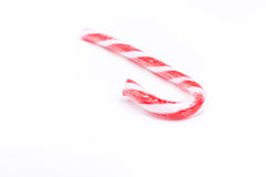 Xmas Candy Cane Royalty Free Stock Image