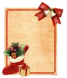 Xmas card Royalty Free Stock Photos