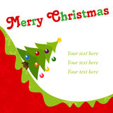 Xmas card Royalty Free Stock Image