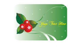 Xmas Card Royalty Free Stock Photo