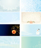 Xmas Card Collection Royalty Free Stock Image