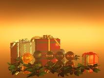Xmas Card, holiday Stock Photos