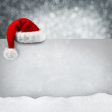 XMAS Card snow Royalty Free Stock Photo