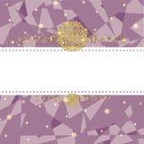 Xmas card vector Royalty Free Stock Image