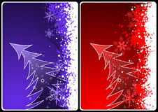 Xmas cards Stock Images