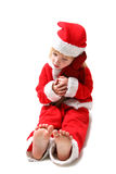 Xmas child Stock Image