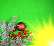 Xmas chrismas background firs. Copy space stock photos