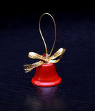 Xmas christmas bells red decoration jingle new year. Merry Royalty Free Stock Photos