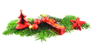 Xmas or christmas still life Royalty Free Stock Images
