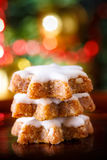 Xmas cinnamon cookies Stock Images