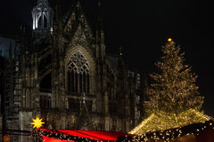 Xmas in Cologne Royalty Free Stock Photos
