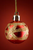 Xmas Colors Globe Royalty Free Stock Images