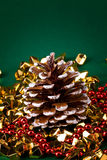 Xmas cone Royalty Free Stock Photo