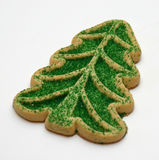Xmas Cookie. Full picture of a christmas cookie, easy to knock out the background Stock Images