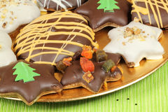 Xmas cookies Stock Images