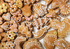 Xmas cookies from czech republic Stock Image