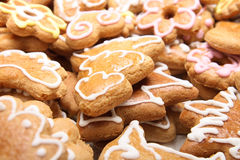Xmas cookies from czech republic Stock Photography