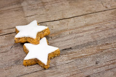 Xmas cookies Royalty Free Stock Photos