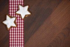 Xmas cookies Stock Photography