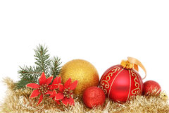 Xmas decoration stock image