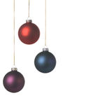 Xmas decoration. With a nice soft texture, isolated on a white background Royalty Free Stock Photo