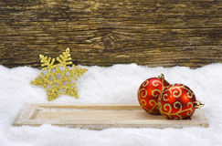 Xmas decoration Stock Photo