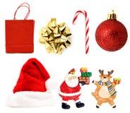 Xmas decoration pack Stock Image