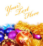 Xmas decorations Royalty Free Stock Photography