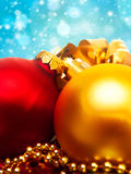 Xmas decorations Royalty Free Stock Image