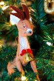 Xmas deer Royalty Free Stock Photo