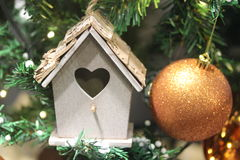 Xmas dekoracja dla bożego narodzenia sesson zdjęcie royalty free
