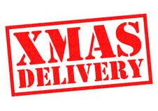 XMAS DELIVERY Stock Image