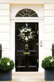 Xmas door wreath Stock Image