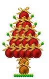 Xmas Drzewo Zdjęcie Stock