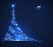 Xmas drzewo royalty ilustracja