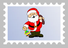 Xmas email stamp Royalty Free Stock Photography