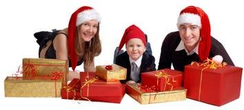 Free Xmas Family Royalty Free Stock Photos - 3837938
