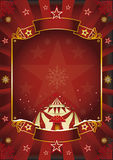Xmas Fantastic circus. Stock Photo