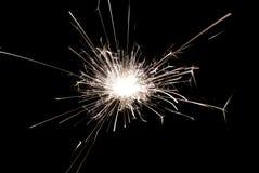 Xmas fireworks Royalty Free Stock Image