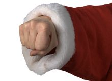 Xmas fist Royalty Free Stock Images