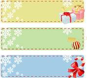 Xmas frame Royalty Free Stock Photos