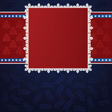 Xmas frame Royalty Free Stock Photo